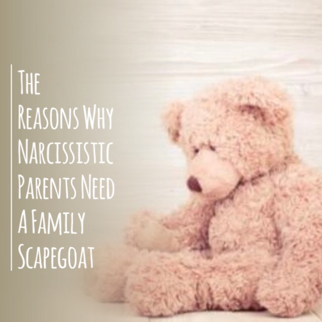 The Reasons Why Narcissistic Parents Designate A Scapegoat